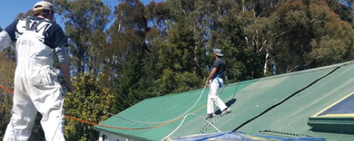 Roof Spraying & Painting